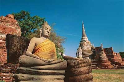 Buddha Statue at Wat Phra Sri Sanphet